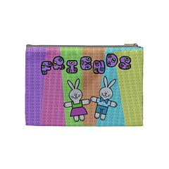 Some Rabbit Love You   Cosmetic Bag (medium)   By Carmensita   Cosmetic Bag (medium)   R2xjl32qrku8   Www Artscow Com Back