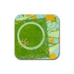 Coaster-Floral - Rubber Coaster (Square)