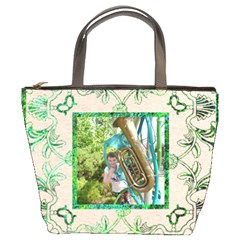 Art Nouveau Eden Bucket Bag By Catvinnat   Bucket Bag   Pugzft0wmbb2   Www Artscow Com Front