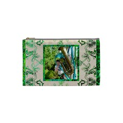 Art Nouveau Eden Small Cosmetic Bag By Catvinnat   Cosmetic Bag (small)   Irmve6nd1fxb   Www Artscow Com Front