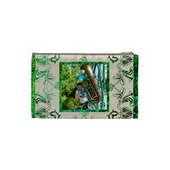 Art Nouveau Eden Small Cosmetic Bag By Catvinnat   Cosmetic Bag (small)   Irmve6nd1fxb   Www Artscow Com Back