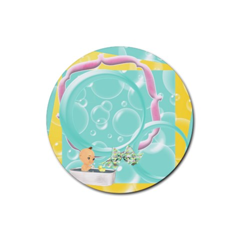 Scrubba Bubba 1 By Snackpackgu   Rubber Coaster (round)   87168pvynhqa   Www Artscow Com Front