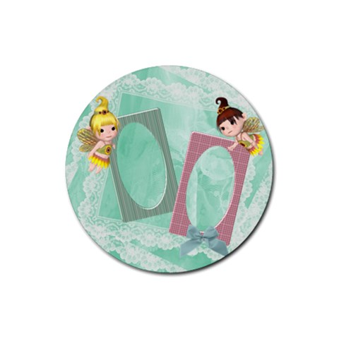 Timeless 1 By Snackpackgu   Rubber Coaster (round)   Ds9kk6kzu9ql   Www Artscow Com Front
