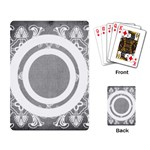 art nouveau circles playing cards - Playing Cards Single Design