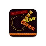 Halloween coaster - Rubber Coaster (Square)