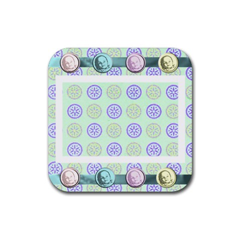 Baby Coaster By Danielle Christiansen   Rubber Coaster (square)   4a624c56egwr   Www Artscow Com Front
