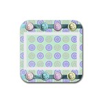 baby coaster - Rubber Coaster (Square)