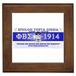 BANNER_for_chapter_alumni CARL D GREENE Framed Tile
