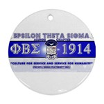 BANNER_for_chapter_alumni CARL D GREENE Ornament (Round)