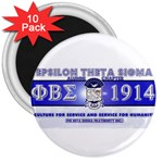 BANNER_for_chapter_alumni CARL D GREENE 3  Magnet (10 pack)