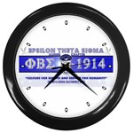 BANNER_for_chapter_alumni CARL D GREENE Wall Clock (Black)