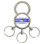 BANNER_for_chapter_alumni CARL D GREENE 3-Ring Key Chain