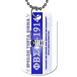 BANNER_for_chapter_alumni CARL D GREENE Dog Tag (One Side)