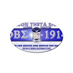 BANNER_for_chapter_alumni CARL D GREENE Sticker Oval (100 pack)