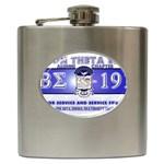 BANNER_for_chapter_alumni CARL D GREENE Hip Flask (6 oz)