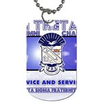 BANNER_for_chapter_alumni CARL D GREENE Dog Tag (Two Sides)
