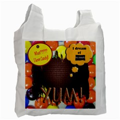 Halloweeen Candy Bag By Danielle Christiansen   Recycle Bag (two Side)   1vn1p2djk6ia   Www Artscow Com Front