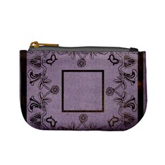 Art Nouveau Purple Mini Coin Purse By Catvinnat   Mini Coin Purse   Sh7simx71btz   Www Artscow Com Front