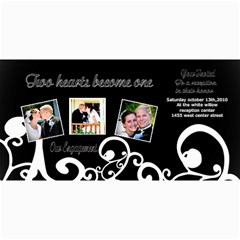 Engagement Announcement Cards By Danielle Christiansen   4  X 8  Photo Cards   7upmytx1gtlc   Www Artscow Com 8 x4 Photo Card - 5