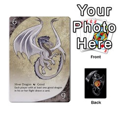 Three Dragon Ante (1 Of 2) By Gaines Kergosien   Playing Cards 54 Designs   Eis98tir5nmf   Www Artscow Com Front - Heart3