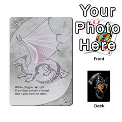 Three Dragon Ante (1 Of 2) By Gaines Kergosien   Playing Cards 54 Designs   Eis98tir5nmf   Www Artscow Com Front - Spade4
