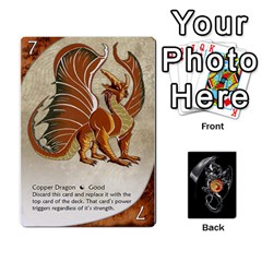 Three Dragon Ante (1 Of 2) By Gaines Kergosien   Playing Cards 54 Designs   Eis98tir5nmf   Www Artscow Com Front - Club2