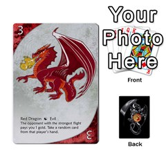 Three Dragon Ante (1 Of 2) By Gaines Kergosien   Playing Cards 54 Designs   Eis98tir5nmf   Www Artscow Com Front - Club6