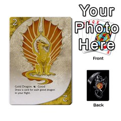 Jack Three Dragon Ante (1 Of 2) By Gaines Kergosien   Playing Cards 54 Designs   Eis98tir5nmf   Www Artscow Com Front - ClubJ