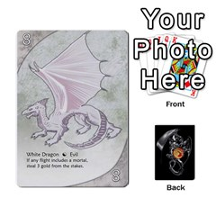 Three Dragon Ante (1 Of 2) By Gaines Kergosien   Playing Cards 54 Designs   Eis98tir5nmf   Www Artscow Com Front - Spade7