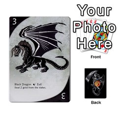 Three Dragon Ante (1 Of 2) By Gaines Kergosien   Playing Cards 54 Designs   Eis98tir5nmf   Www Artscow Com Front - Spade10