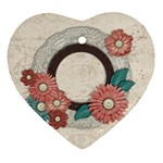 Heart ornament-Floral - Ornament (Heart)