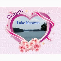 Dream Lake Keowee 2011 By Diane Allen   Wall Calendar 11  X 8 5  (12 Months)   Tntbbctdp0vi   Www Artscow Com Month
