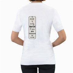 Teri By Joe Hinderer   Women s T Shirt (white) (two Sided)   B2c8vdtgztse   Www Artscow Com Back