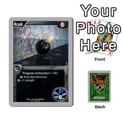 Netrunner Bs Runner 01 By Pedrito   Playing Cards 54 Designs   Xciwoy9f4389   Www Artscow Com Front - Club3