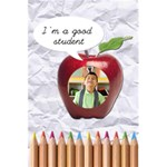 I m a good student - Notepad - 5.5  x 8.5  Notebook