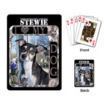 I Love My Dog Playing Cards - Playing Cards Single Design