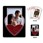 Heart Playing Cards - Playing Cards Single Design