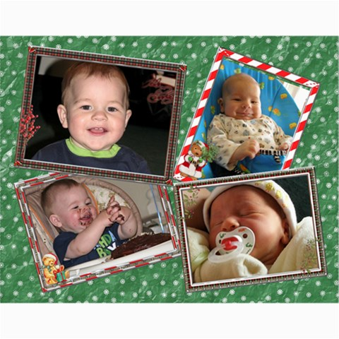 Christmas 14x11 Collage Poster By Lil    Collage 11  X 14    R0srcbbcjgz0   Www Artscow Com 14 x11 Print - 1
