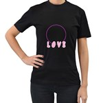 love t shirt - Women s T-Shirt (Black)