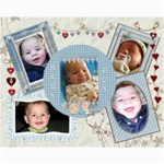Baby Boy 14x11 Collage Poster - Collage 11  x 14