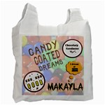 makayla halloween bag - Recycle Bag (One Side)