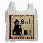 trick or treat bag 8 - Recycle Bag (One Side)