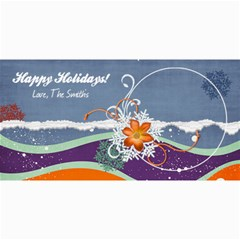 4x8 Holiday Card By Mikki   4  X 8  Photo Cards   D2yzb3zlje2i   Www Artscow Com 8 x4 Photo Card - 8