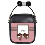 Pink and brown - BAG - Girls Sling Bag