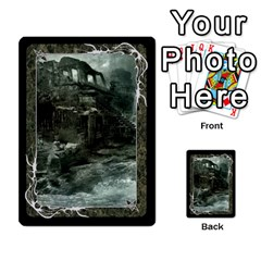 Black Bordered Domain Cards (3 Sets   Double Sided) By Colorcrayons   Multi Purpose Cards (rectangle)   Dc85y12ae4bs   Www Artscow Com Front 24