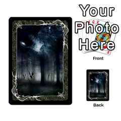 Black Bordered Domain Cards (6 Sets   Single Sided) By Colorcrayons   Multi Purpose Cards (rectangle)   Qvq603vc8tft   Www Artscow Com Back 7