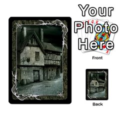 Black Bordered Domain Cards (6 Sets   Single Sided) By Colorcrayons   Multi Purpose Cards (rectangle)   Qvq603vc8tft   Www Artscow Com Back 3