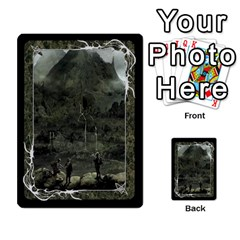 Black Bordered Domain Cards (6 Sets   Single Sided) By Colorcrayons   Multi Purpose Cards (rectangle)   Qvq603vc8tft   Www Artscow Com Front 50