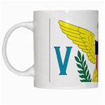 Flag_Virgin Islands, Us White Mug