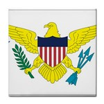 Flag_Virgin Islands, Us Tile Coaster